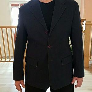 Perry Ellis Navy Blue Sport Coat